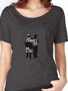 We Solve Crimes Women's Relaxed Fit T-Shirt