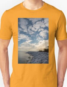 Cirrocumulus Clouds and Sunshine - Lake Ontario, Toronto, Canada T-Shirt