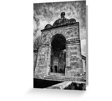 Tyne Cot War Memorial Ypres Belgium Greeting Card