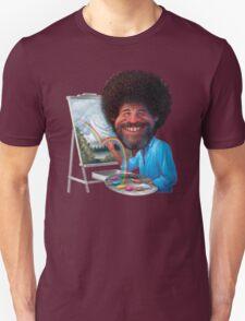 Bob Ross Cartoon T-Shirt