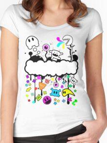 Trippy de-do-da Women's Fitted Scoop T-Shirt