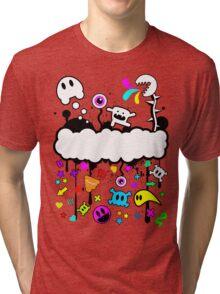 Trippy de-do-da Tri-blend T-Shirt
