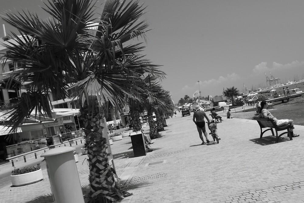 Larnaca Summer Stroll by John Papaioannou