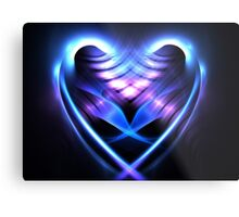 Sea Heart Metal Print
