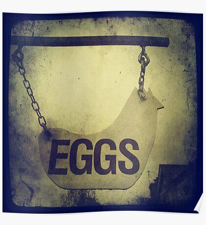 Cambridge Collection: Eggs Poster