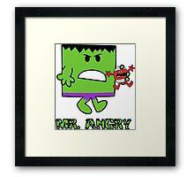 Mr Angry Framed Print