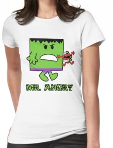 Mr Angry Womens Fitted T-Shirt