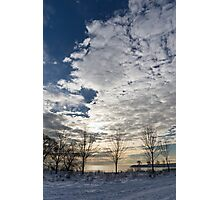 The Pearly Cloud  Photographic Print