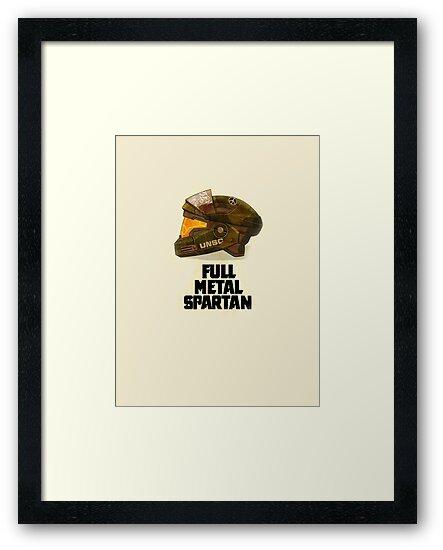 Halo: Full Metal Spartan by TDesign83