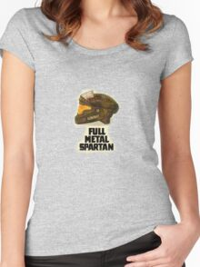 Halo: Full Metal Spartan Women's Fitted Scoop T-Shirt