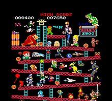 1980s Arcade Heroes by nikhorne