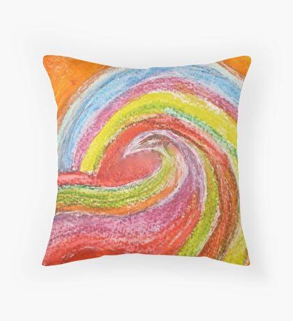 Vee's Songbird Throw Pillow
