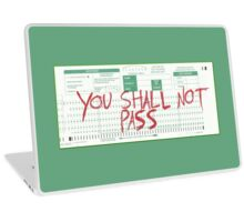 you shall not pass Laptop Skin