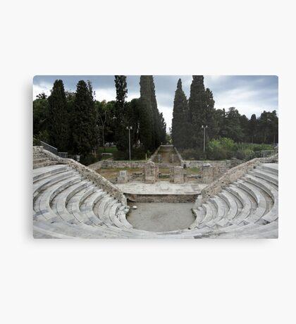 Ancient Greek Ampitheatre Metal Print