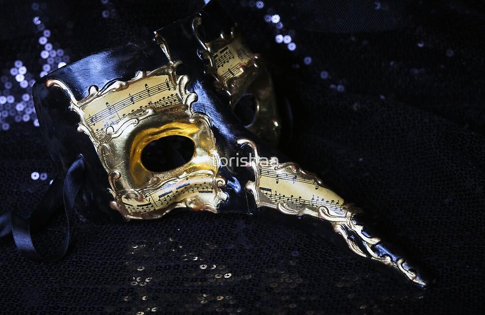 Venetian Mask by torishaa