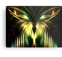 Yellow Plumes Metal Print