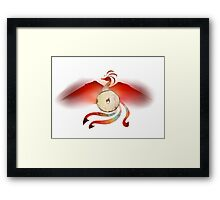 Bagel Phoenix Cult Framed Print