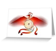 Bagel Phoenix Cult Greeting Card