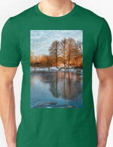 Cold Ice Trio - Lake Ontario Impressions Unisex T-Shirt