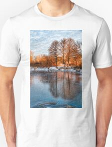Cold Ice Trio - Lake Ontario Impressions Unisex T-Shirt