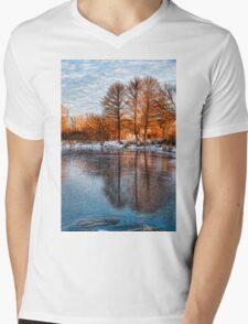 Cold Ice Trio - Lake Ontario Impressions Mens V-Neck T-Shirt