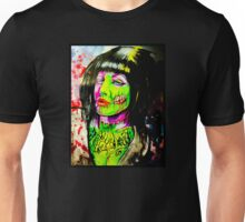 Punk Rock Zombie Chick COLOUR Unisex T-Shirt