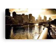 Melbourne Town *1 Canvas Print