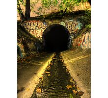 Into The Abyss Photographic Print