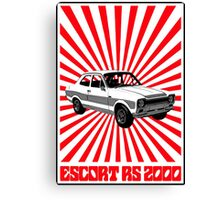 RS 2000 Ford Escort Classic Car  Canvas Print