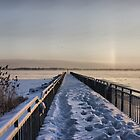 Frozen Pier by paulsk