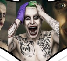 Jared Leto Joker Batman vs Superman Sticker