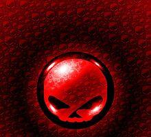 Harley Davidson Design - Red/Black  by Sookiesooker