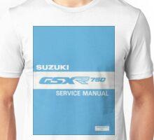 Suzuki GSXR 750 user manual Unisex T-Shirt