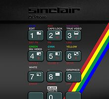 Sinclair ZX Spectrum by Alisdair Binning