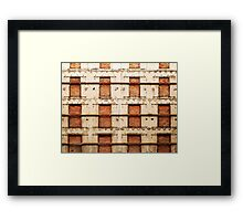 Continuing Stories..., Barcelona, Spain Framed Print