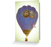 Hot Air Balloon - Oreo 100 Greeting Card