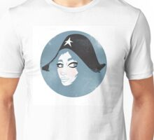 Girl in a Hat Unisex T-Shirt