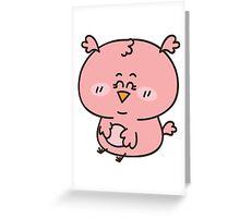 Baby girl owl Greeting Card