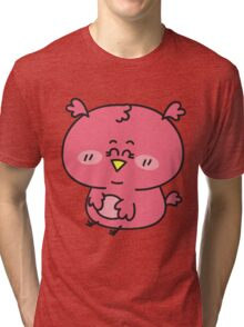 Baby girl owl Tri-blend T-Shirt