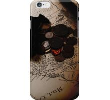 maps and treasures iPhone Case/Skin