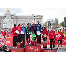 The Winners of the London Marathon 2012 Photographic Print
