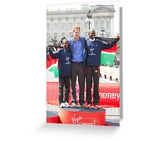 The Gold Medallist winners with Prince Harry Greeting Card