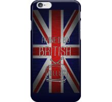 Ruined By British Telly iPhone Case/Skin