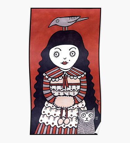 Raven Hair Poster