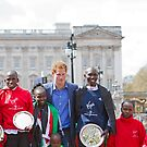 The Winners of the London Marathon 2012 by Keith Larby