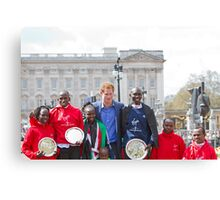 The Winners of the London Marathon 2012 Canvas Print