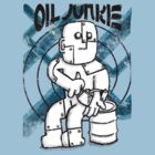 Oil Junkie - Vintage by Paul Webster