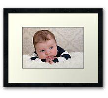 Too cute! Framed Print