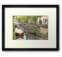 And again..a Touch of Impressionism ..Leiden in Holland Framed Print
