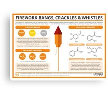 The Chemistry of Fireworks: Bangs, Crackles & Whistles Canvas Print